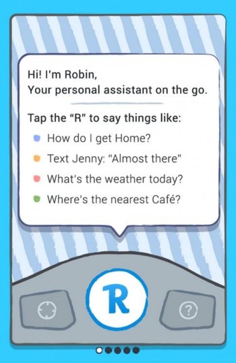 Xin chao! Toi la Robin. Em cua Siri.