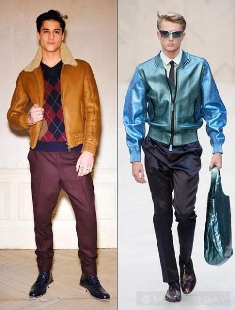 Xu hướng áo khoác nam mùa đông