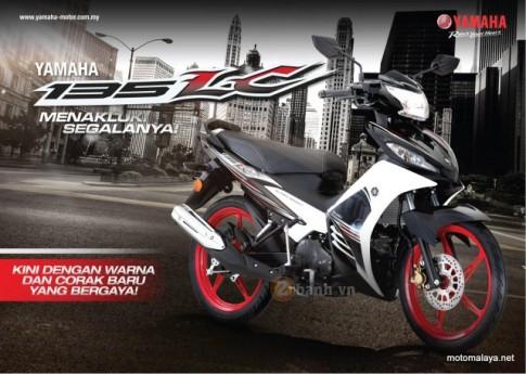 Yamaha 135LC 2016 thêm hình ảnh cận cảnh và thông số kỷ thuật
