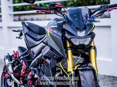 Yamaha M-Slaz do day ca tinh cua Panom Racing