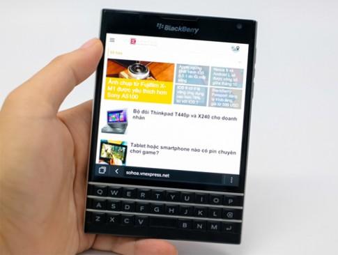 200.000 BlackBerry Passport duoc ban trong 2 ngay