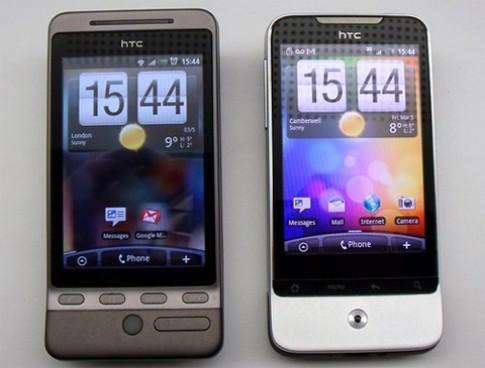Anh em HTC Hero va Legend