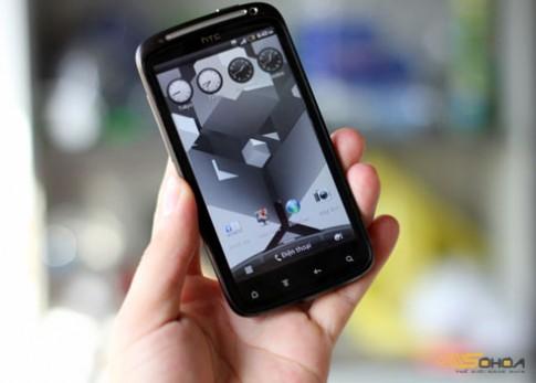 Anh HTC Sensation sap ban o VN