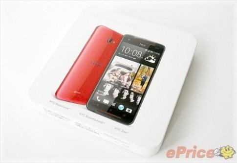 """Anh """"mo hop"""" HTC Butterfly S vua ban o Dai Loan"""