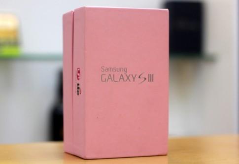 Ảnh thực tế Galaxy S III màu hồng
