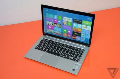Anh ultrabook Windows 8 dau bang Toshiba Kirabook