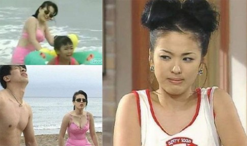 Bien doi nhan sac cua Song Hye Kyo qua 20 nam