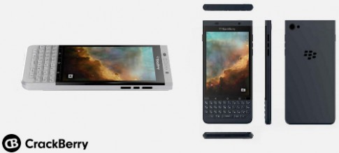 BlackBerry chay Android thu hai lo dien
