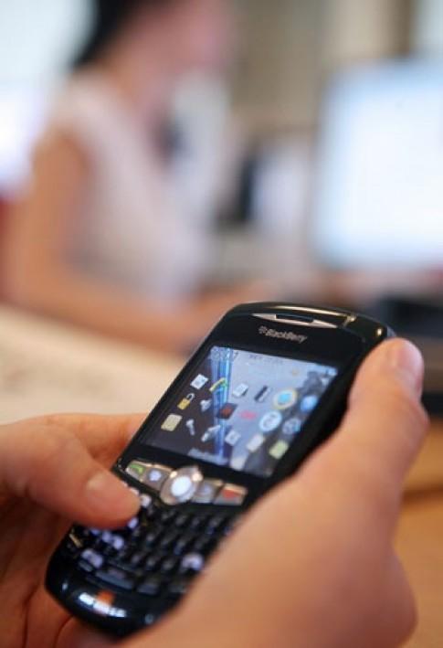 BlackBerry Messenger duoc dung trong bao loan o London
