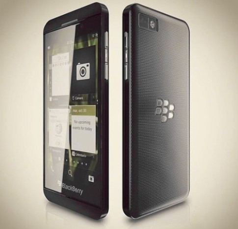BlackBerry Z10 dung chip loi kep va RAM 2 GB