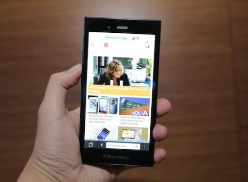 BlackBerry Z3 chinh hang co gia 4,6 trieu dong