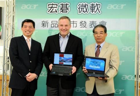 Bo may tinh Acer dung Windows 7