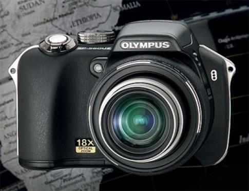 Camera zoom quang 18x mới nhất của Olympus