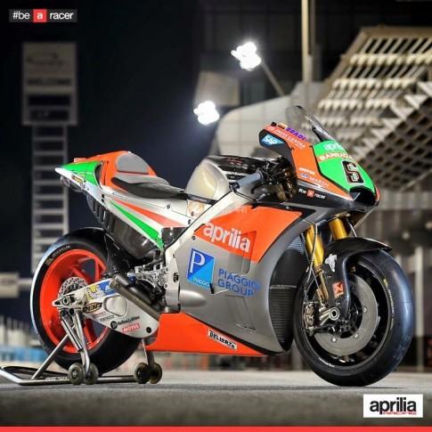 Can canh Aprilia RS-GP 2016 vua lo dien truoc them mua giai MotoGP nam nay