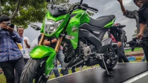 Can canh Kawasaki Z125 2016 Doi thu cua Honda MSX 125