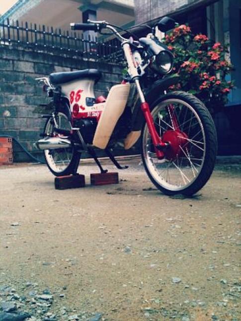 chaly Do phog cach Drag thai cua biker 10x o HCM city