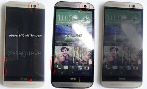 Chan dung HTC One M9 qua cac tin don