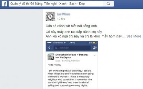 Da Nang lap facebook de nhan phan anh cua du khach