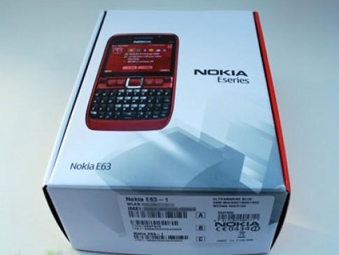 'Đập hộp' Nokia E63