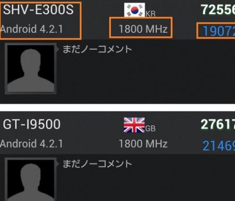 Điểm benchmark tiết lộ Galaxy S IV dùng chip 8 nhân