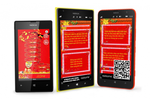 Đón Tết cùng 5 ứng dụng miễn phí trên Nokia Lumia