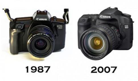Dòng EOS của Canon chạm mốc 30 triệu chiếc