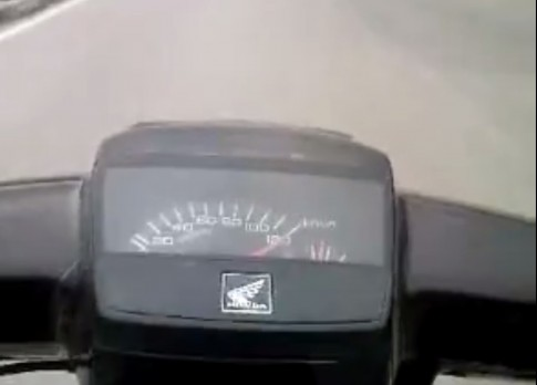 Dream max speed 120km/h
