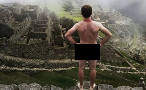 Du khach bi bat vi chup anh khoa than o Machu Picchu