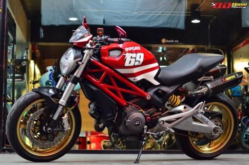 Ducati Monster 795 day ca tinh va phong cach cua dan choi Thai