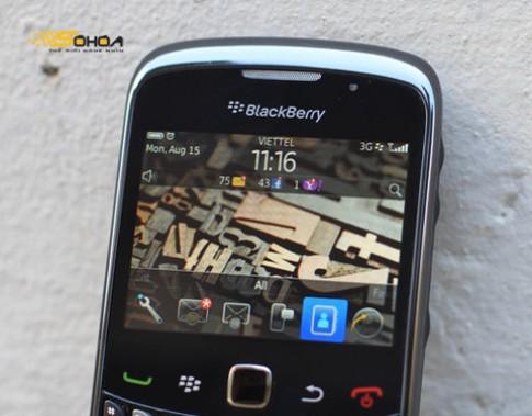 Dung thu dich vu BIS tren BlackBerry