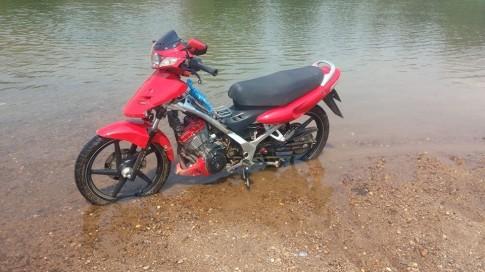 FX125 độ 175cc và cột mốc 160km/h