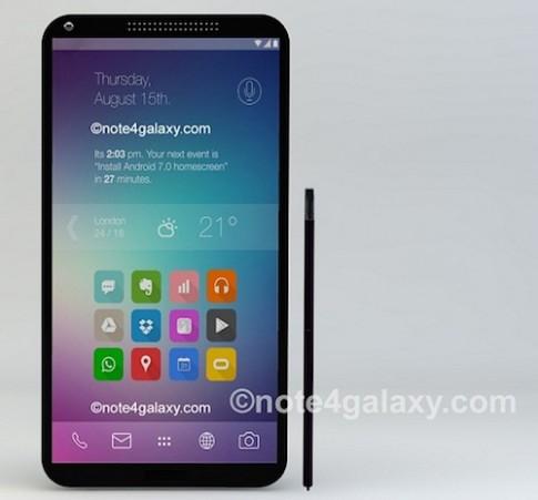 Galaxy Note 4 man hinh 2K co the ra mat dau thang 9