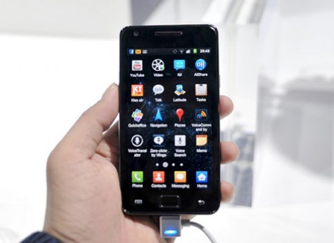 Galaxy S II chinh thuc co ban dung chip Tegra 2