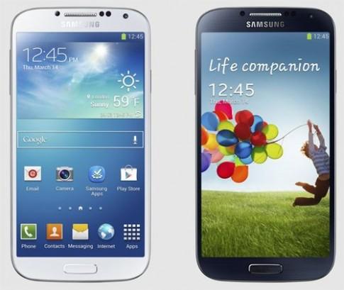 Galaxy S4 duoc trang bi 2 loai chip khac nhau
