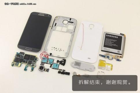 Gia linh kien Galaxy S4 chua toi 5 trieu dong