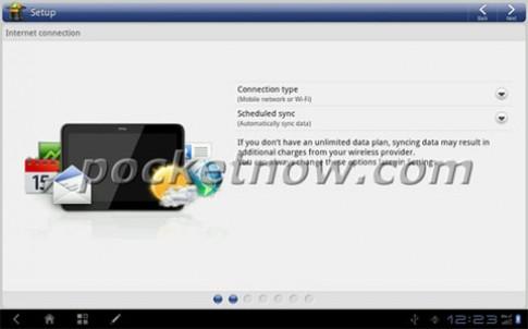 Giao dien HTC Sense tren Android Honeycomb
