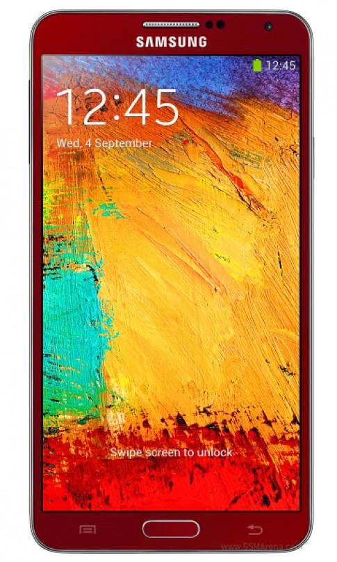 Hinh anh Galaxy Note 3 phien ban mau do va vang hong
