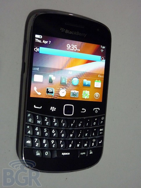 Hinh anh ro rang cua BlackBerry Bold Touch