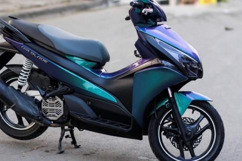 Hỏi về việc thay đổi màu sơn cho xe máy