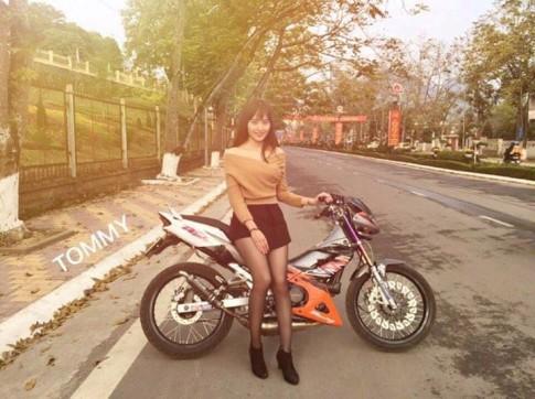 Honda Nova Dash tao dang cung hot go duong pho