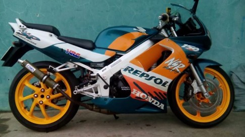 Honda Nsr Sp150 do duoi yen solo do choi Tyga, heo Brembo BMW