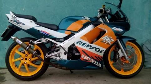 Honda Nsr Sp150 độ đuôi yên solo đồ chơi Tyga, heo Brembo BMW