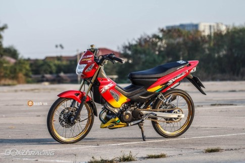 Honda Sonic do day an tuong voi dan do choi cuc chat