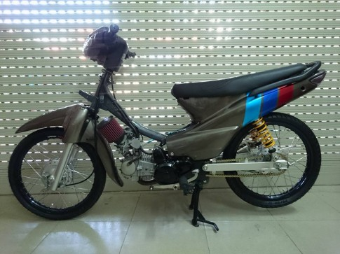 Honda Wave nho phong cach Racing