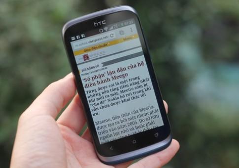 HTC Desire X 'loi kep' chinh hang gia 7,9 trieu dong