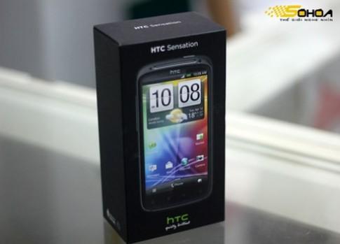 HTC Sensation dau tien ve VN gia 14,5 trieu