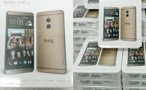 HTC them phien ban vang cho phablet One Max