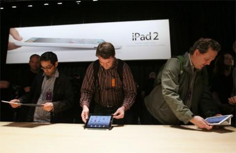 iPad 2 sap ban o cac nuoc gan VN