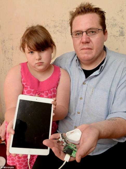 iPad gay giat dien, hat vang nguoi dung trong luc sac