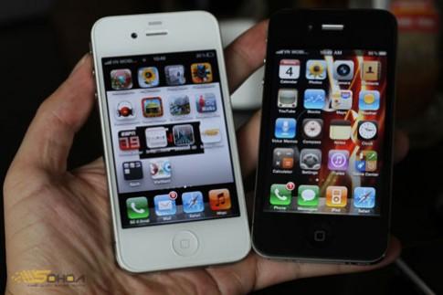 iPhone 4 64GB quoc te tai Sai Gon